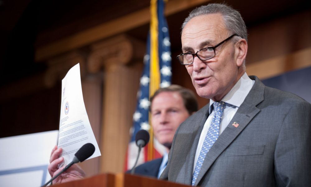 Chuck Schumer Says Marijuana Legalization Will Be Prioritized If Democrats Retake Senate