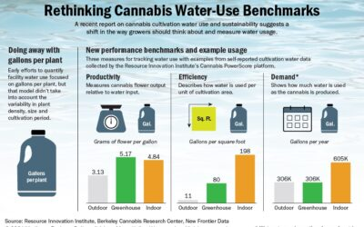 Marijuana cultivators should rethink how they measure water use, new report says